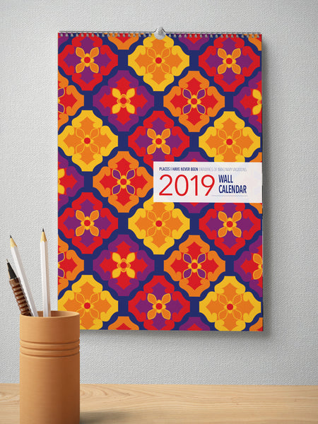 "2019 ""Places I Have Never Been"" Wall Calendar"