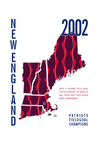 New England Patriots Map