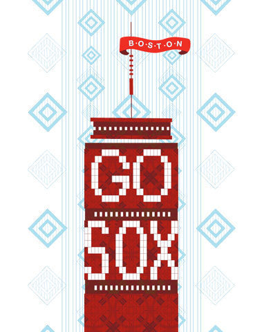 Go Sox! Boston Daytime Print