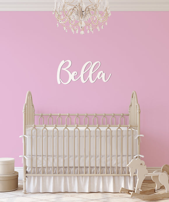 Nursery Name Sign 8-18 inch heights
