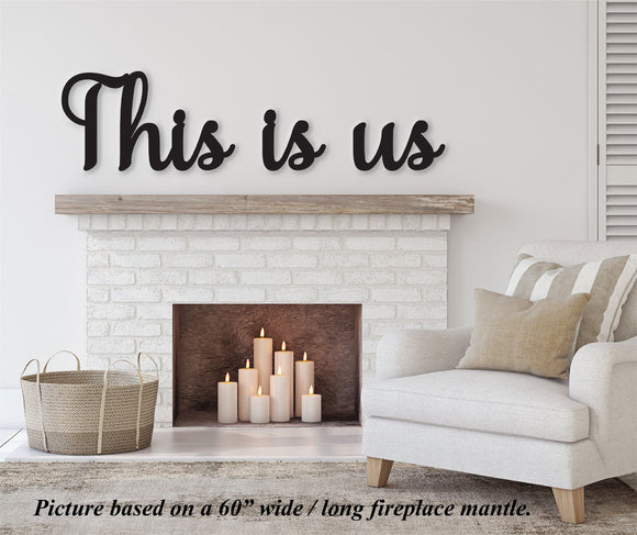 This is us sign, This is us wall decor, This us wall hanging, This is us wood sign, Family room decor, Thanksgiving Decor, Dining room decor