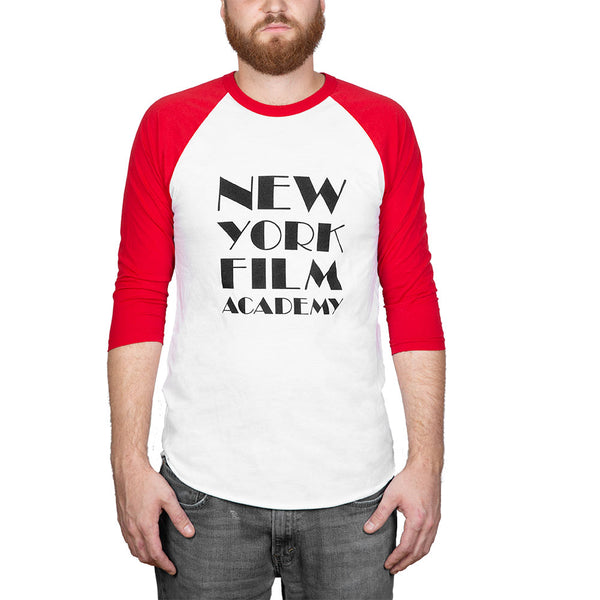 NYFA Baseball Shirt - Red & White