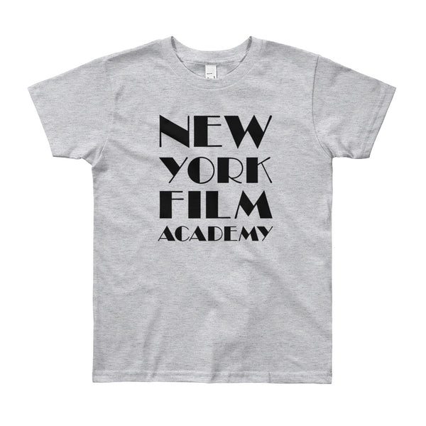 NYFA T-Shirt - Unisex Youth Heather Grey