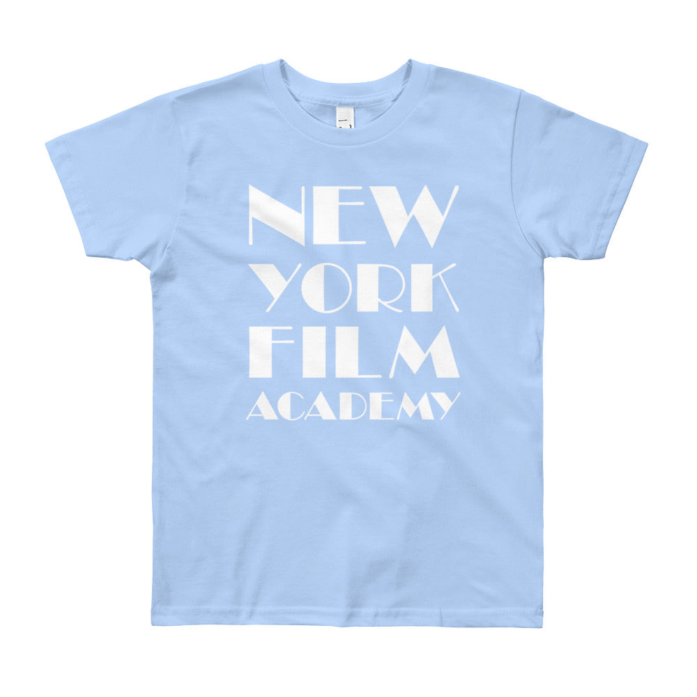 NYFA T-Shirt - Unisex Youth Soft Blue
