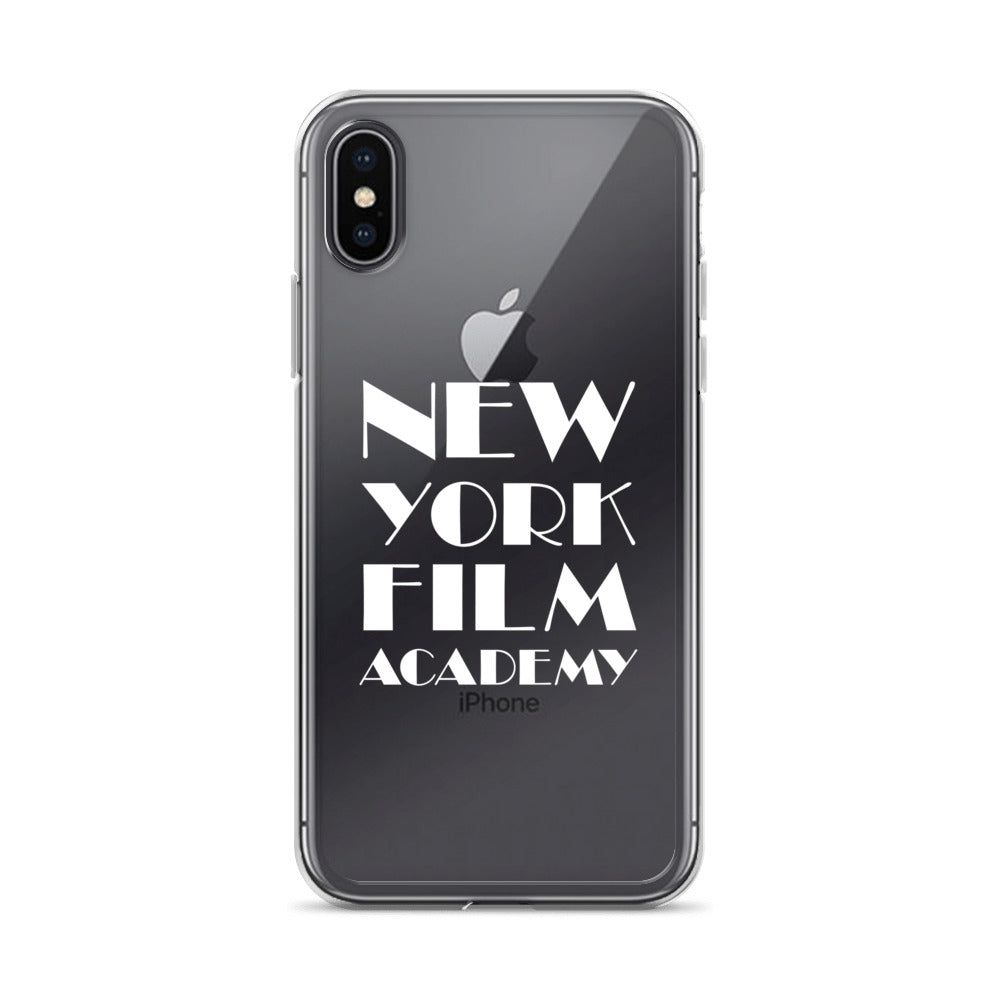 iPhone Case - White NYFA Logo