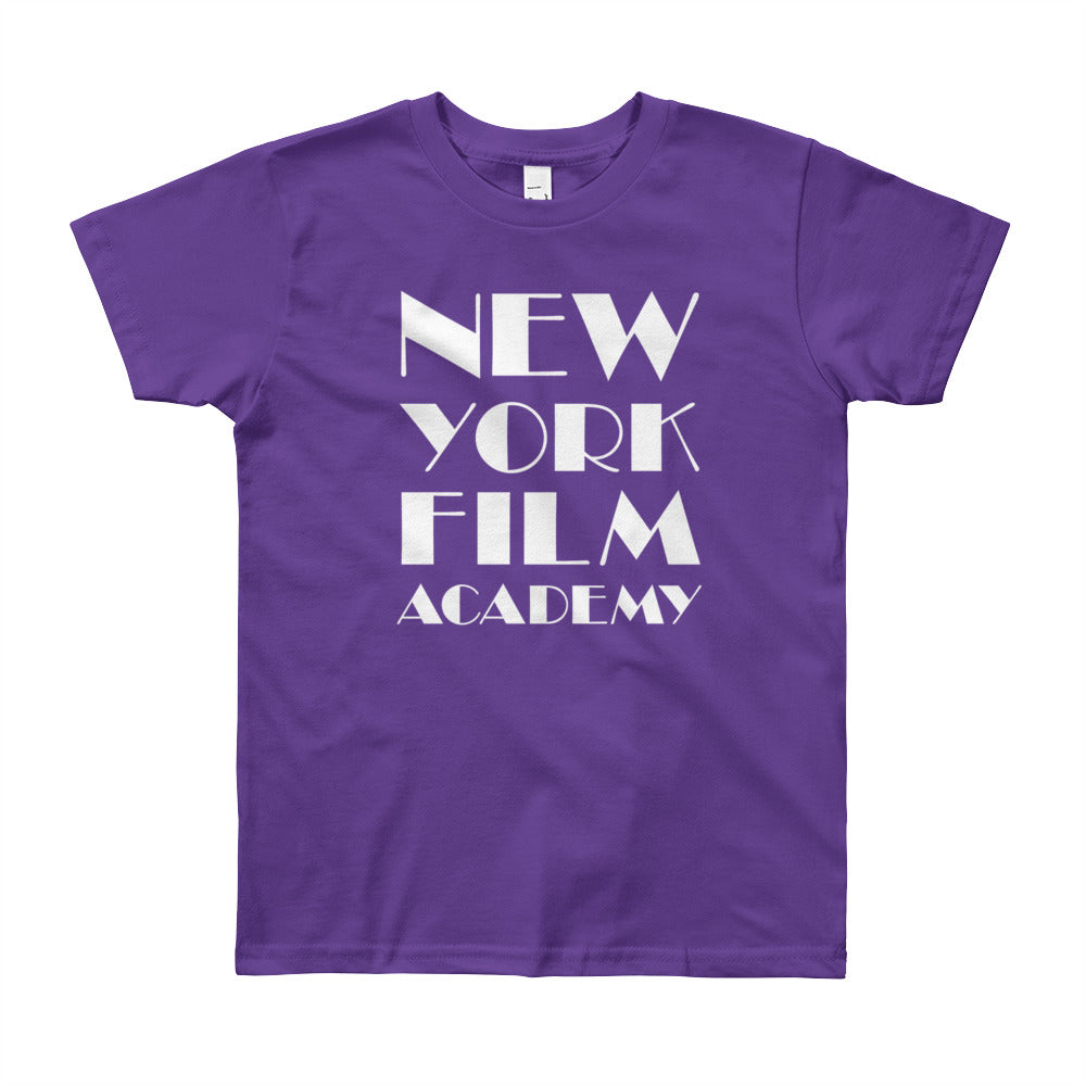 NYFA T-Shirt - Unisex Youth Purple