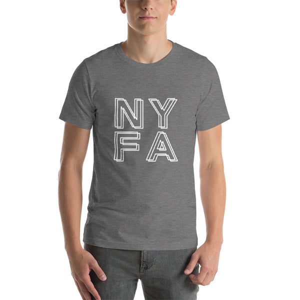 Double NYFA T-shirt - Dark Grey Heather