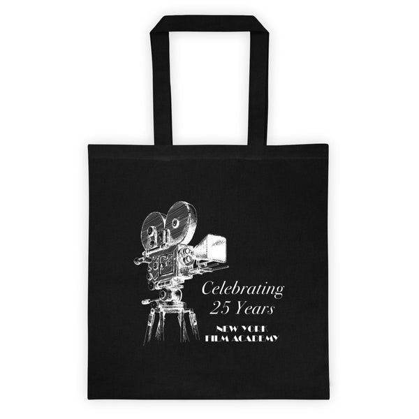 Limited Edition 25th Year NYFA 35mm Camera Canvas Tote Bag