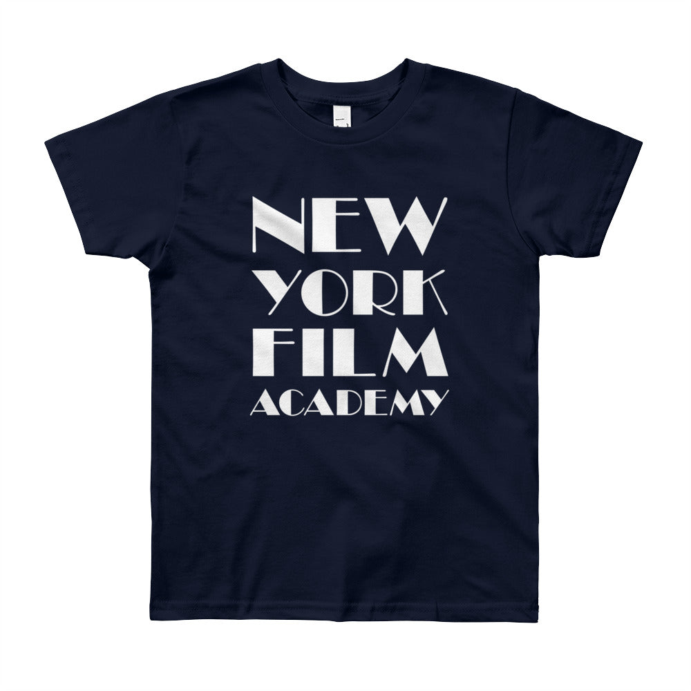NYFA T-Shirt - Unisex Youth Navy