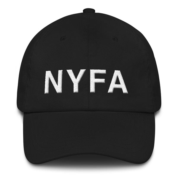 Cap with NYFA Embroidery - Black & White