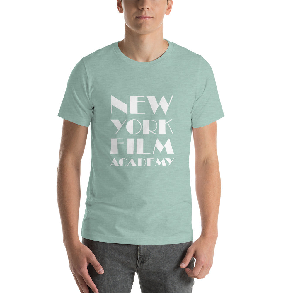 NYFA T-Shirt - Heather Dusty Blue