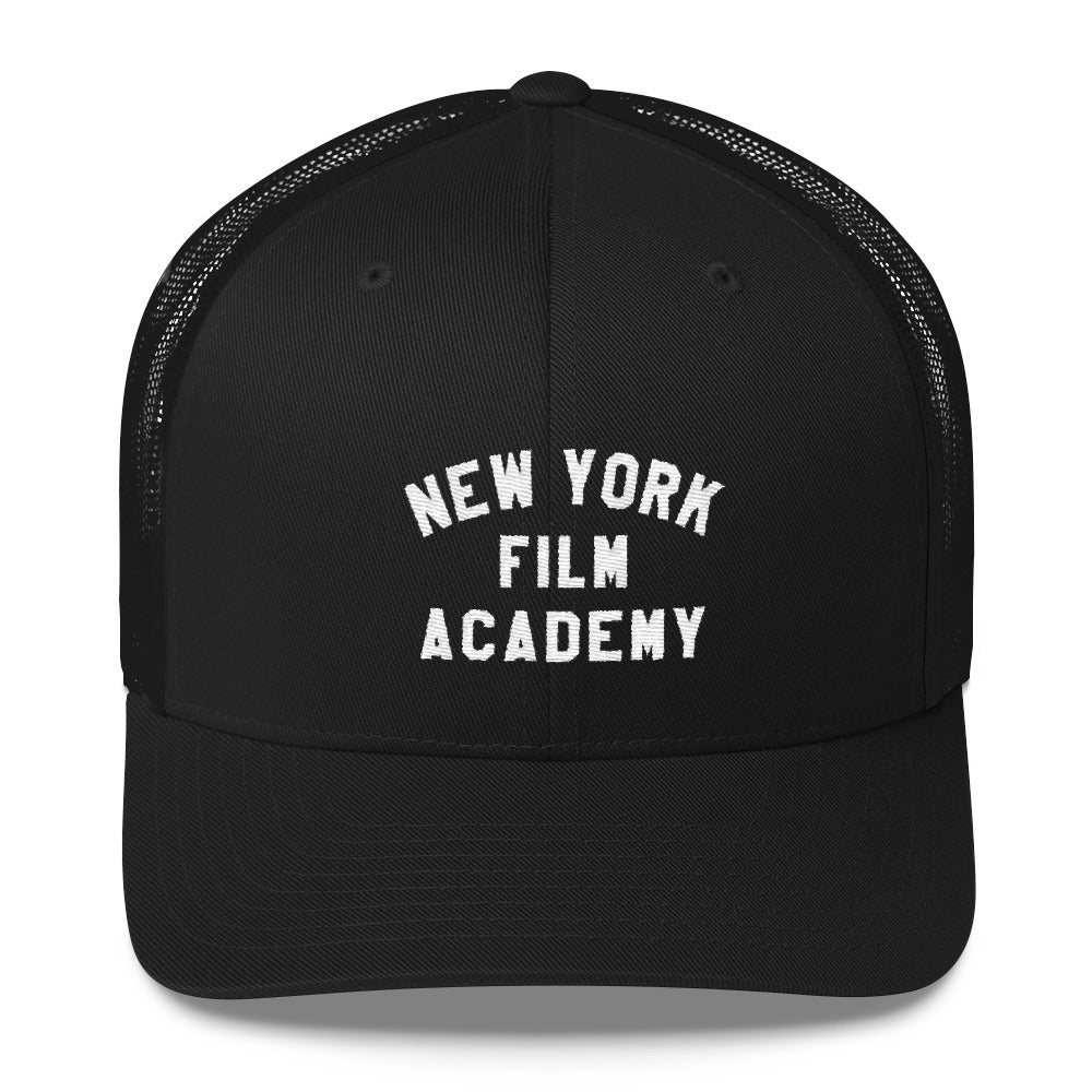 NYFA Retro Trucker Cap - Black