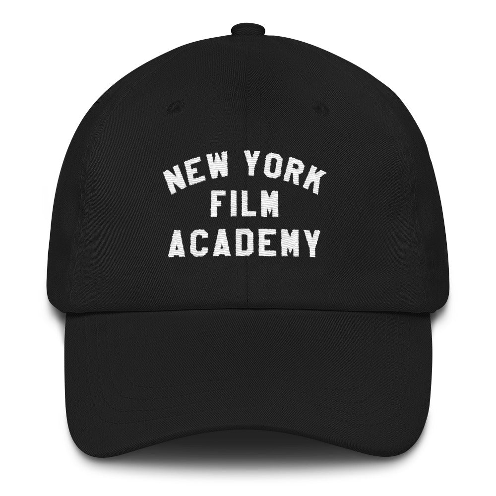 NYFA Cap - Black With Retro Logo