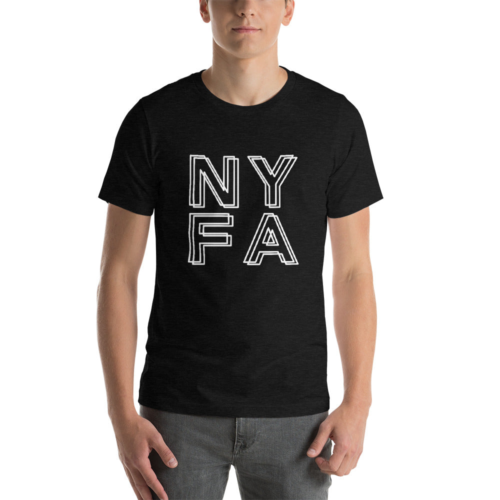 Double NYFA T-shirt - Black Heather