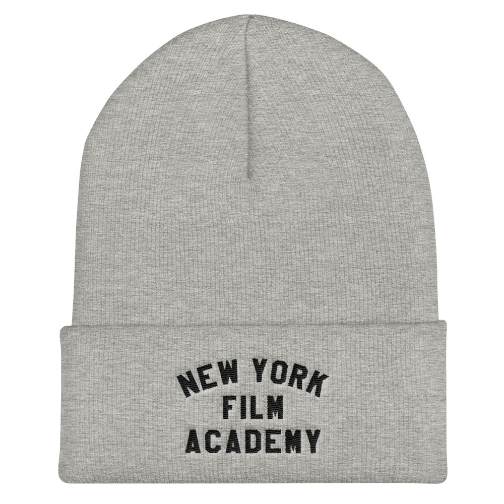 NYFA Cuffed Beanie - Heather Grey & Black