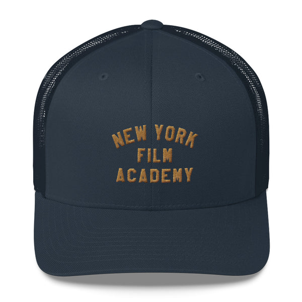 NYFA Retro Trucker Cap - Navy