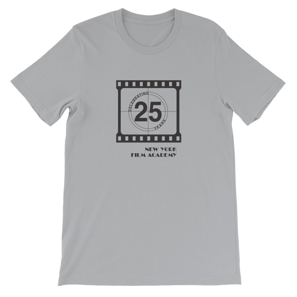 Limited Edition 25th Year NYFA T-Shirt Film Strip - Grey