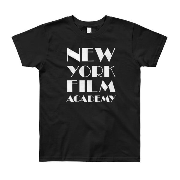 NYFA T-Shirt - Unisex Youth Classic Black