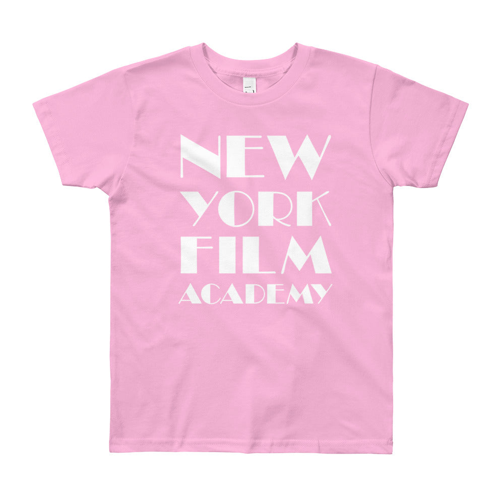 NYFA T-Shirt - Unisex Youth Soft Pink