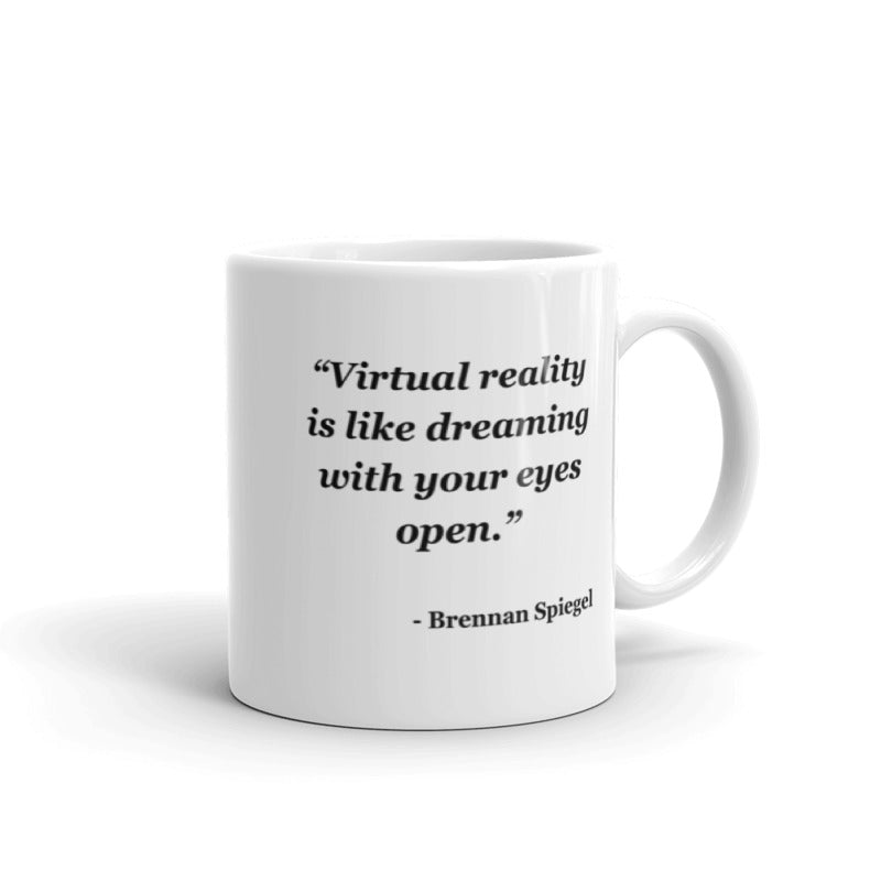 NYFA Mug with Brennan Spiegel Quote - White