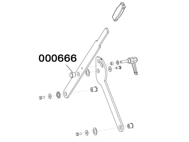 000666 - Articulation pin
