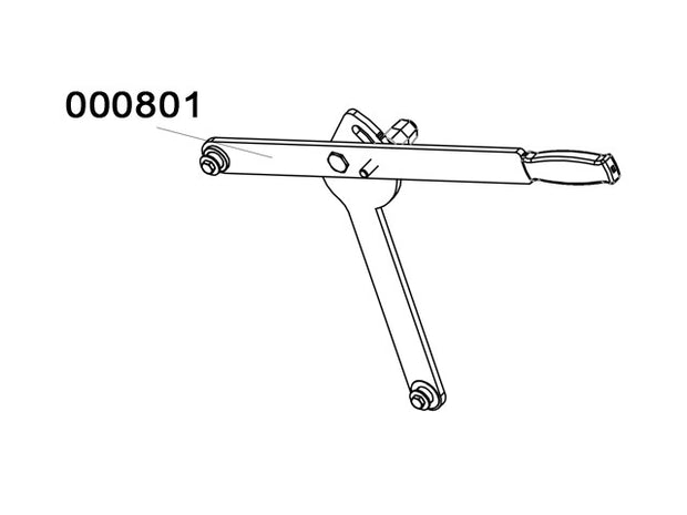 000801 - Lever Assembly