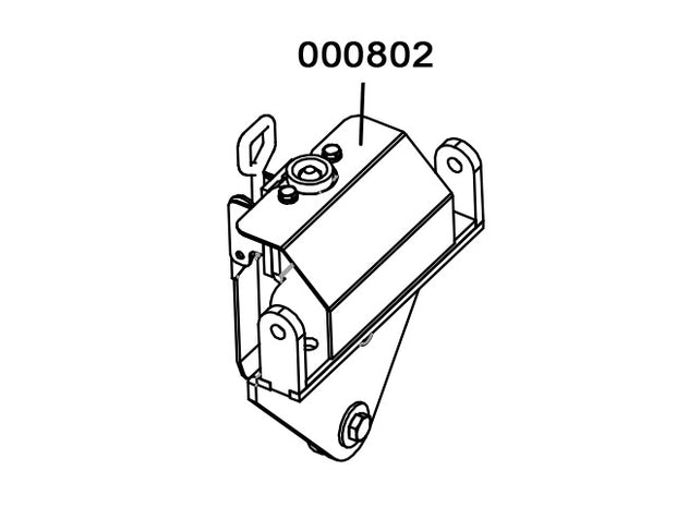 000802 - Support handle Assembly