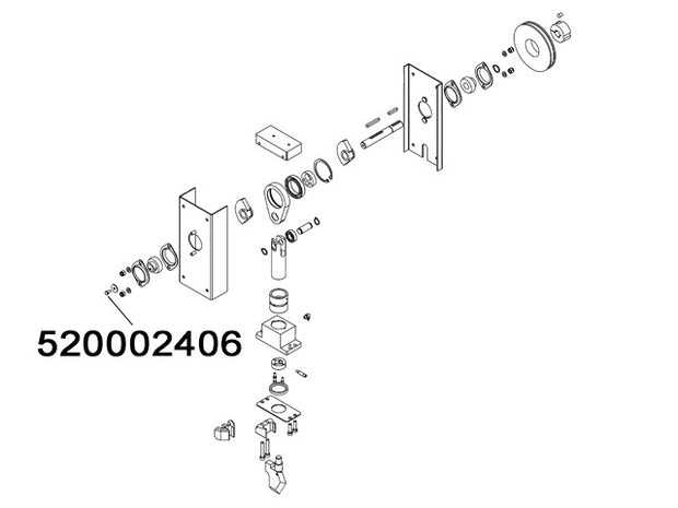 520002406 - Screw TE M6x16