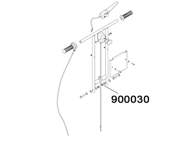 900030 - Self-lock nut M10