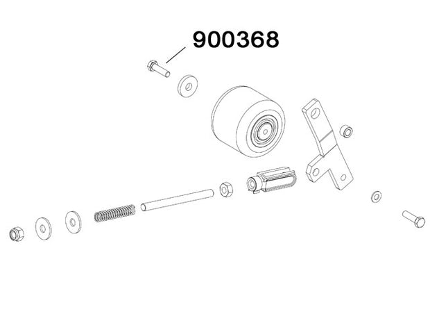 900368 - Screw TE M8x30