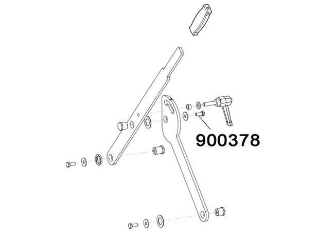 900378 - Screw TE M8x20