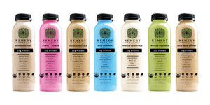 Delicious plant-based protein beverages providing meaningful functional nutrition.
