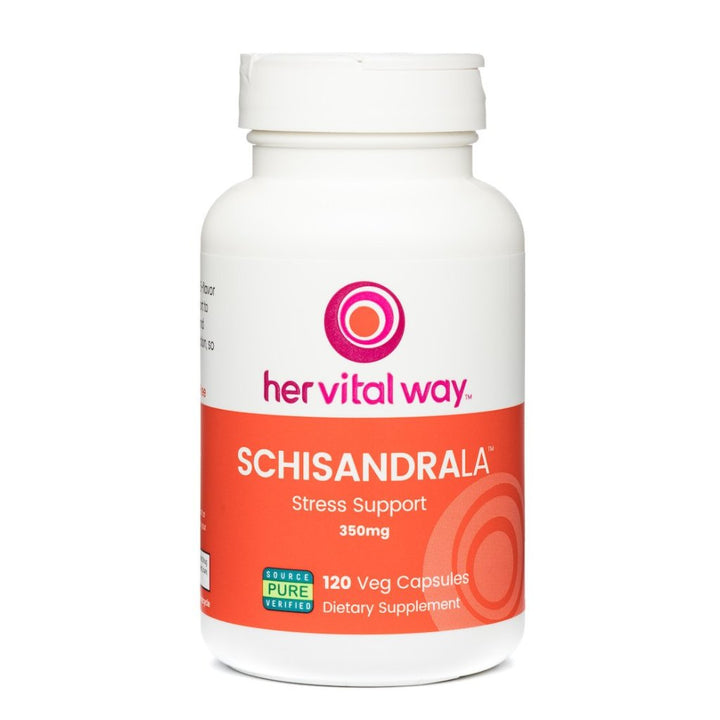 SchisandraLa™ from the revered 5-flavor berry provides adaptogenic support to manage stress, combat fatigue, and revive energy without over stimulation.