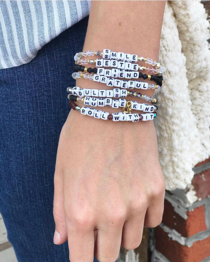 Shareable, Trackable Friendship Bracelets Inspiring Kindness