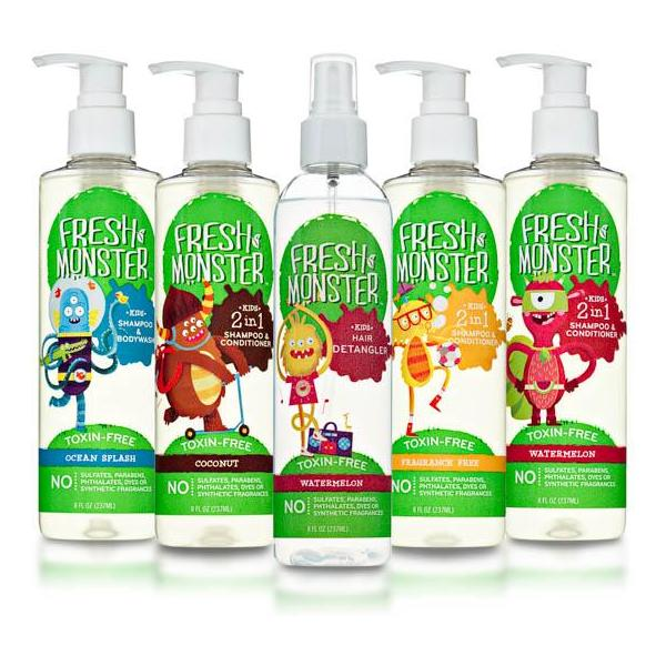 Fresh Monster | Natural Kids Shampoo & Bath Products