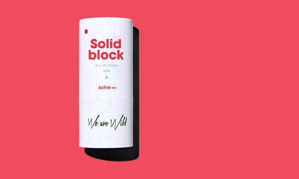 Solid Block Mineral Sunscreen - We Are Wild