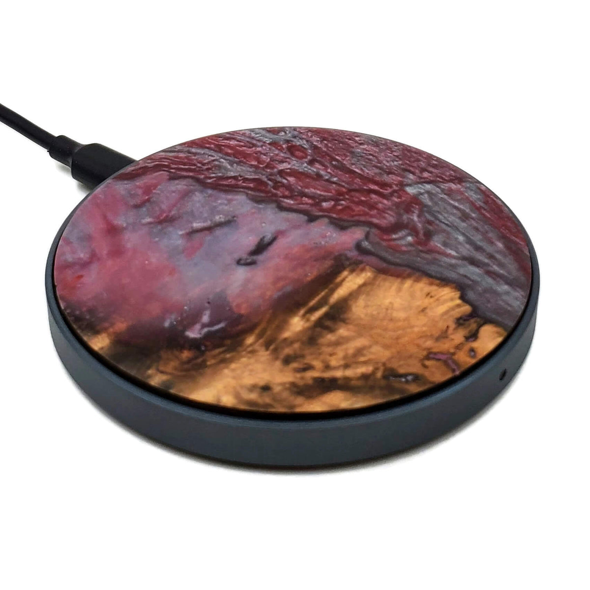 Wireless Phone Charger, Plum
