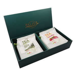 PALIER | Organic Tea Brewer Gift Set-有機茶禮盒組(12入)