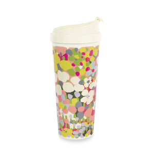 【限時88折】kate spade | 繁花點點冷飲杯 Thermal Mug, Floral Dot