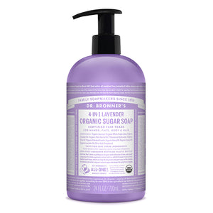 Dr.Bronner's | 布朗博士薰衣草舒緩4 in 1 全效沐浴露(710ml)