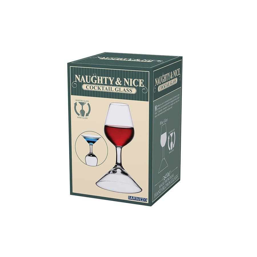 BARBUZZO | Naughty & Nice Cocktail Glass 兩用酒杯