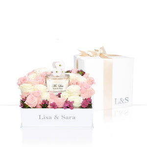 【預購-11月底陸續出貨】Lisa&Sara | 繽紛花瓣 Four Petals Floret by Lisa EDT Miss Lisa