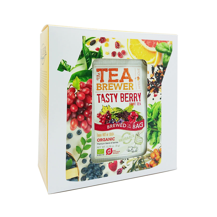 PALIER | Organic Tea Brewer Gift Set-有機茶禮盒組(7入)