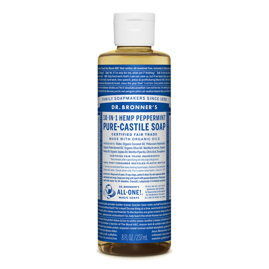 Dr.Bronner's | 布朗博士薄荷清爽18 in 1 全效潔膚露(237/946ml)