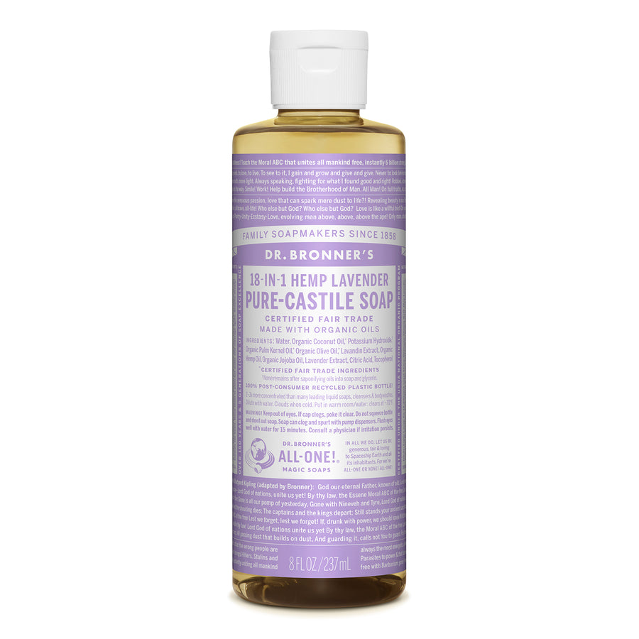 Dr.Bronner's | 布朗博士薰衣草淨化18 in 1 全效潔膚露(237/946ml)