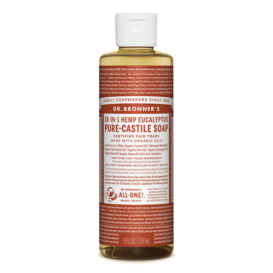 Dr.Bronner's | 布朗博士尤加利淨化18 in 1 全效潔膚露(237/946ml)