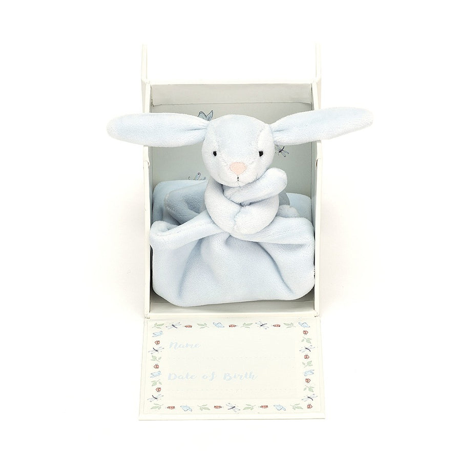 Jellycat | 寶寶的第一條安撫巾 My First Blue Bunny Soother
