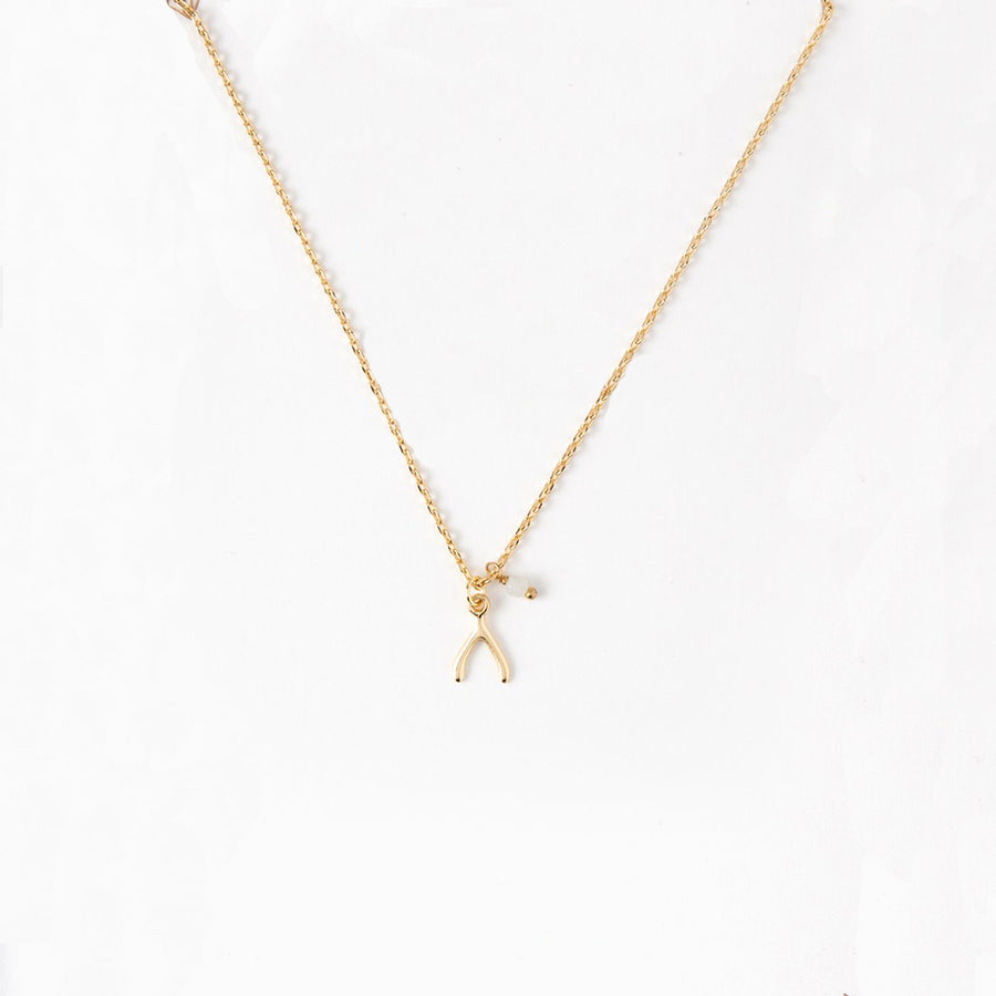 Orelia | BRIDESMAID WISHBONE NECKLACE GIFT 伴娘人魚骨禮品項鍊