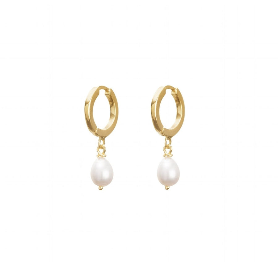 【新品上市】CINCO | 典雅925純銀鍍24K金珍珠耳環 CLAIRE EARRINGS