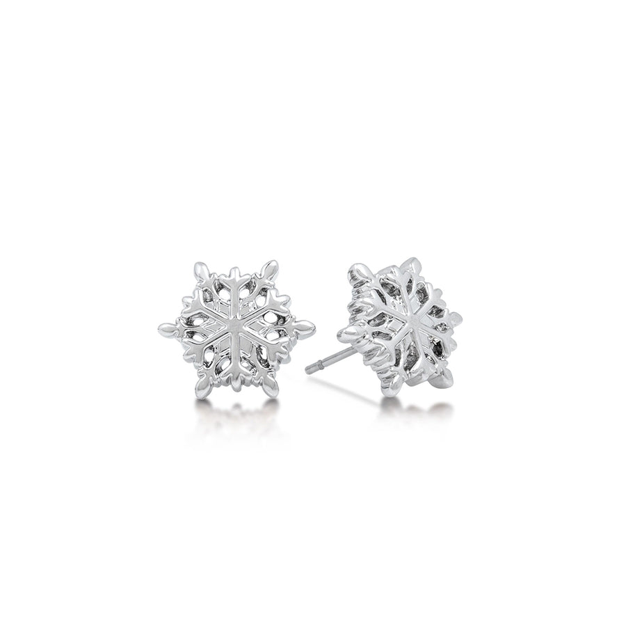 Couture Kingdom | Disney Jewellery 迪士尼冰雪奇緣雪花耳釘 Frozen Snowflake Stud Earrings